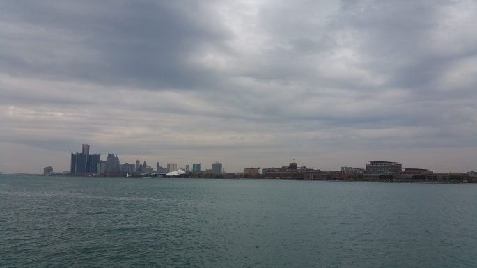 View of Detroit from Belle Isle